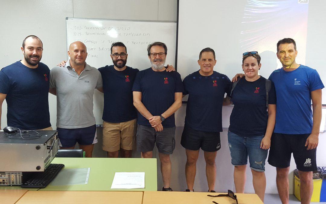 Curso de Árbitro y Monitor de Rugby 7 y 8 de septiembre, Príncipes de España.