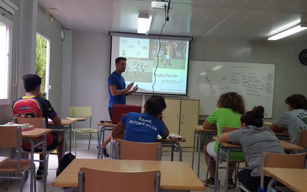 Curso de monitor impartido el 7 y 8 de septiembre en Príncipes de España.