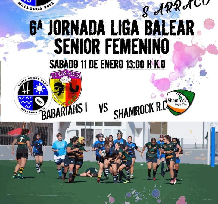 6ª Jornada, Babarians I vs. Shamrock RC