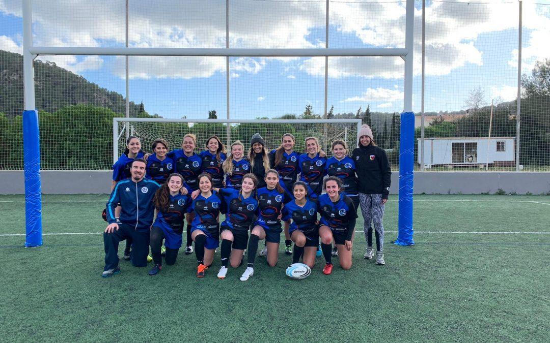 6ª Jornada de Rugby Femenino en S'Arracó.