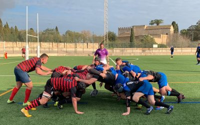 9ª Jornada de liga Senior Regional de Baleares. Unión vs. Bahía R.C.