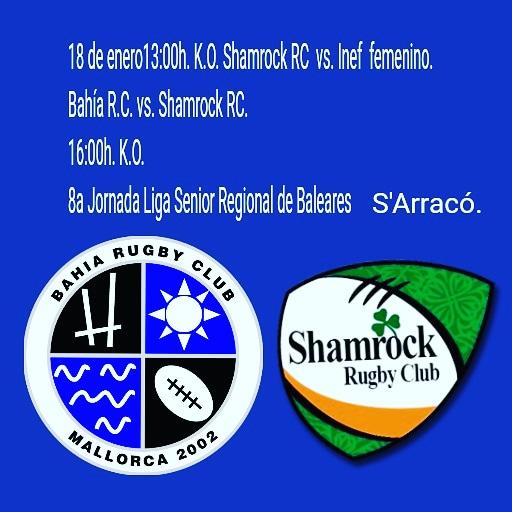 Doble jornada de rugby en S'Arracó. Femenino y Senior Regional de Baleares.