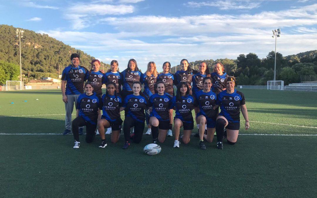 Equipo senior femenino en S'Arracó
